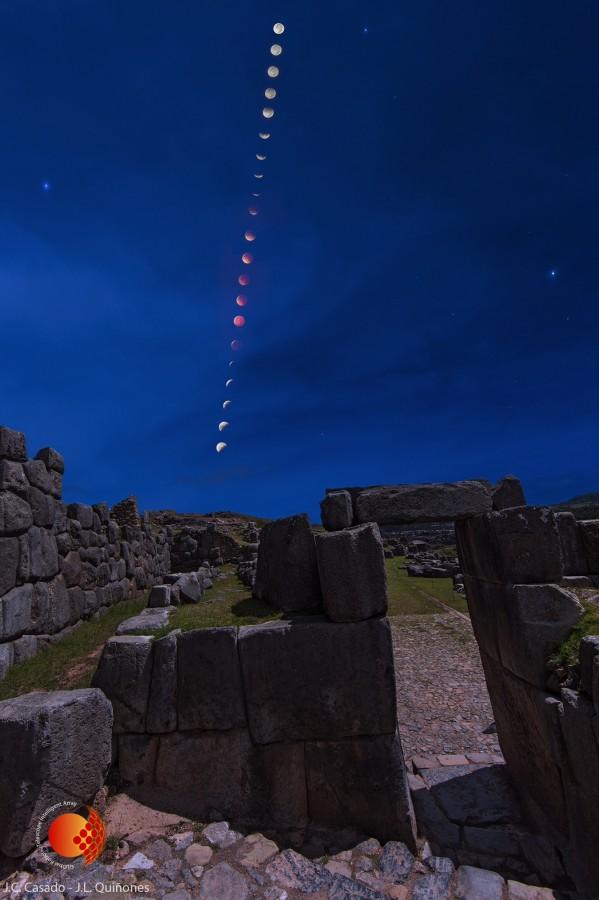 eclipse sacsayhuaman