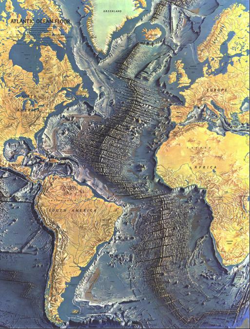 mapa fondos oceánicos